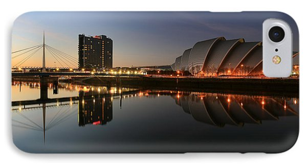 Clydeside Reflections  IPhone Case by Grant Glendinning