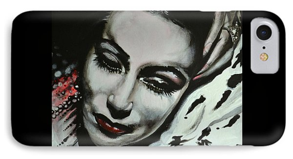 IPhone Case featuring the painting Dolores by Sandro Ramani