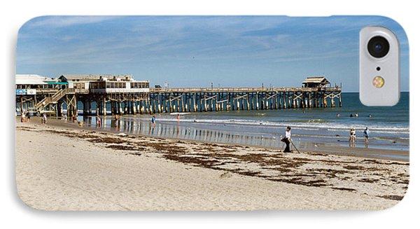 Cocoa Beach In Florida Phone Case by Allan  Hughes