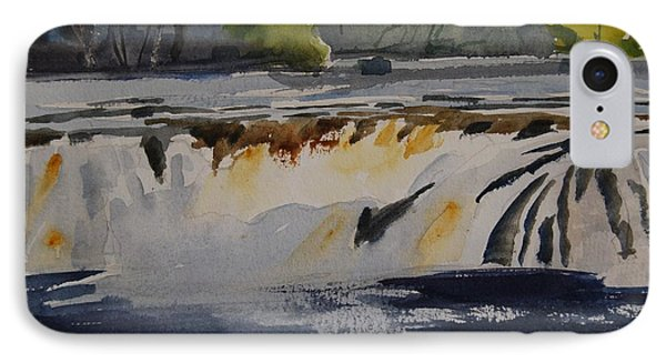 Cohoes Falls Study 2 IPhone Case