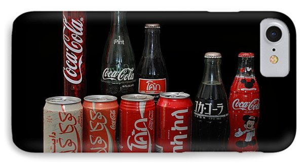 Coke From Around The World Phone Case by Rob Hans