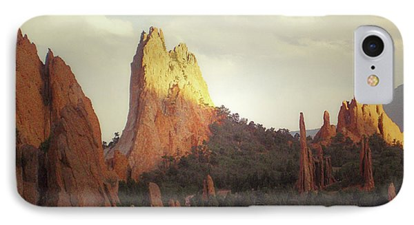 IPhone Case featuring the photograph Colorado Garden Of The Gods Landscape by Andrea Hazel Ihlefeld