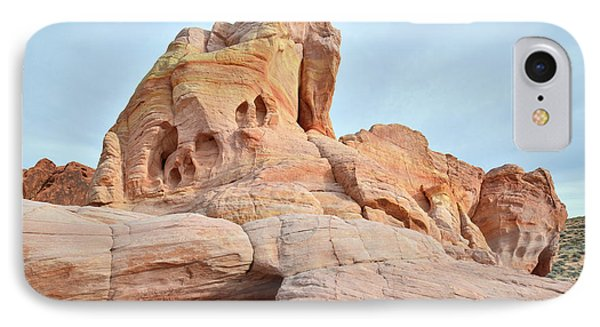 IPhone Case featuring the photograph Colored Castle In Valley Of Fire by Ray Mathis