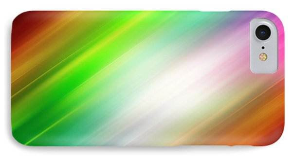 Colorful Abstract  IPhone Case by Les Cunliffe