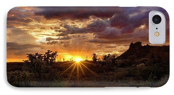 Colorful Sonoran Skies  IPhone Case