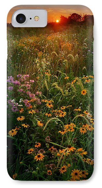 Colors Of Summer IPhone Case by Rob Blair