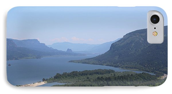 Columbia River Gorge IPhone Case by Carol Groenen