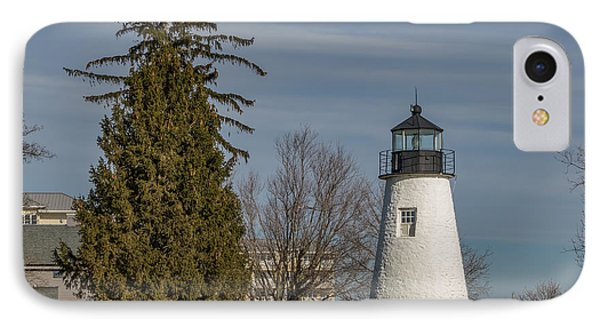 Concord Point Light IPhone Case by Capt Gerry Hare