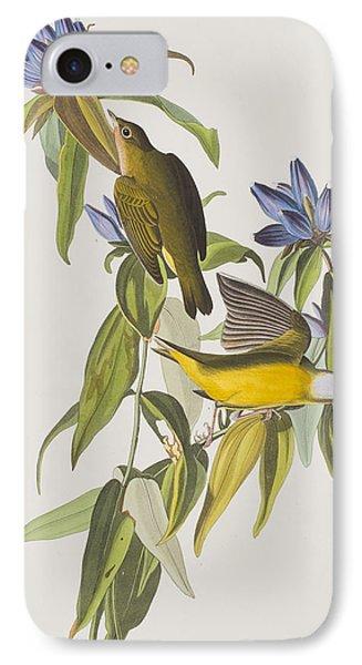 Connecticut Warbler IPhone Case by John James Audubon
