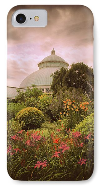 Conservatory Garden IPhone Case by Jessica Jenney