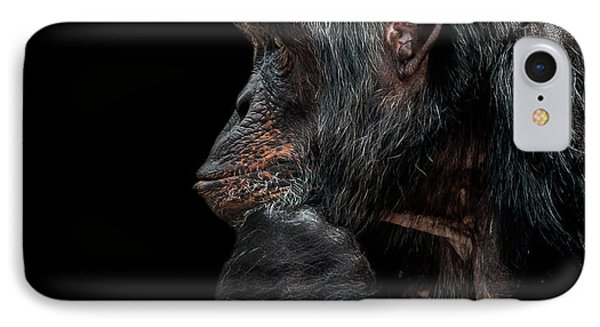 Contemplation  IPhone 7 Case by Paul Neville