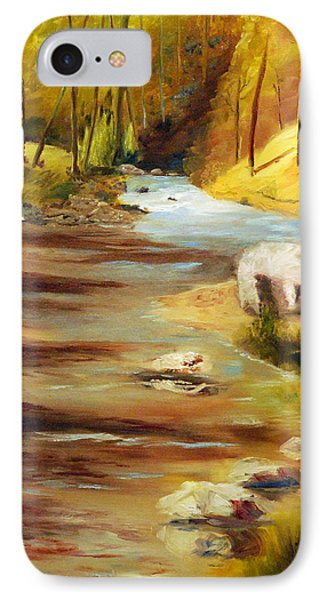 Cool Mountain Stream Phone Case by Phil Burton