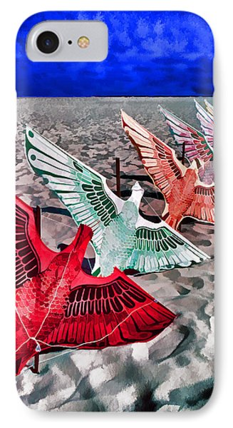 Copacabana Kites Phone Case by Dennis Cox WorldViews