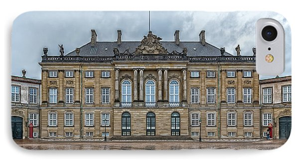 IPhone Case featuring the photograph Copenhagen Amalienborg Palace by Antony McAulay
