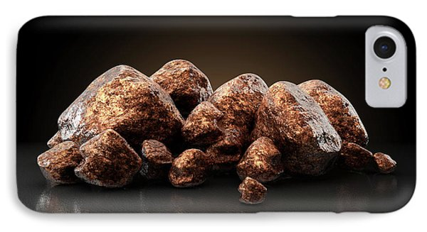 Copper Nugget Collection IPhone Case by Allan Swart