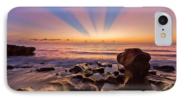Coral Cove Phone Case by Debra and Dave Vanderlaan