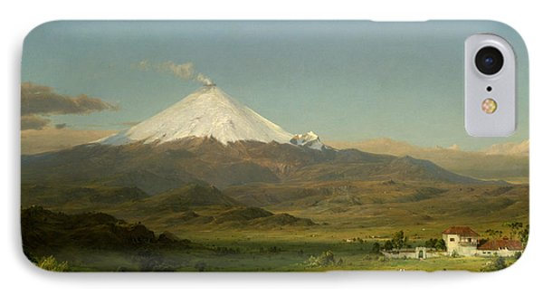 Cotopaxi IPhone Case by Frederic Edwin Church