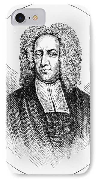 Cotton Mather (1663-1728) Phone Case by Granger