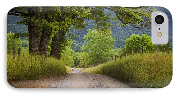 Country Lane In The Smokies IPhone Case by Andrew Soundarajan