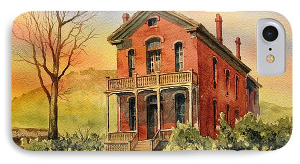 Courthouse Bannack Ghost Town Montana Phone Case by Kevin Heaney