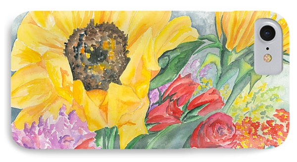 Courtney's Sunflower Phone Case by Kimberly Lavelle