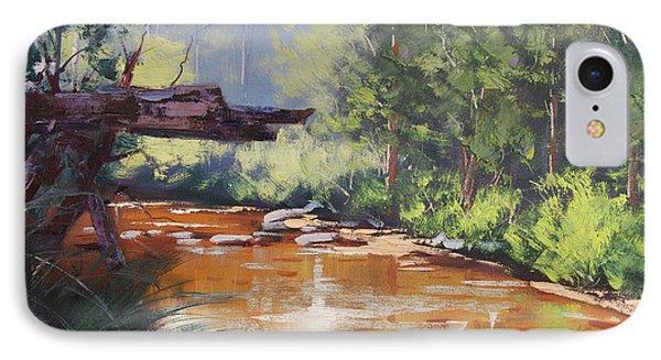 Coxs River Bank IPhone Case by Graham Gercken