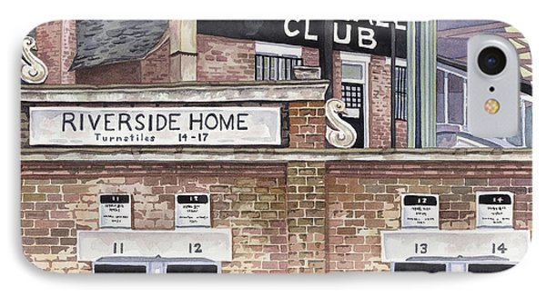 Craven Cottage IPhone Case by Scott Nelson