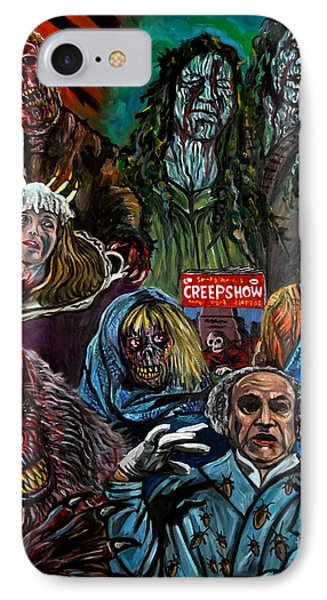 Creepshow IPhone Case by Jose Mendez