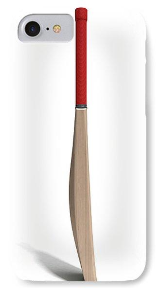 Cricket Bat IPhone Case by Allan Swart