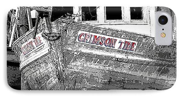 Crimson Tide IPhone Case by Michael Thomas