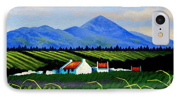 Croagh Patrick County Mayo IPhone Case by John  Nolan