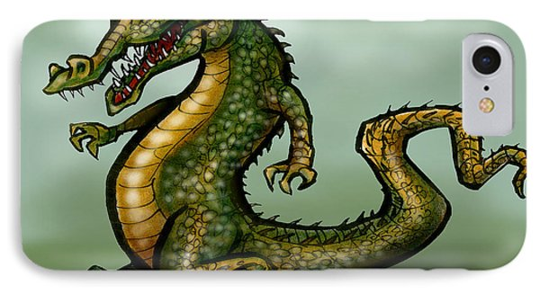 Crocodile Phone Case by Kevin Middleton