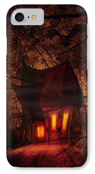 Crooked House IPhone Case by Svetlana Sewell
