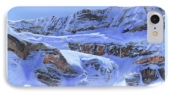 Crowfoot Glacier Phone Case by Glen Frear
