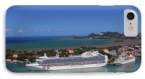 IPhone Case featuring the photograph Cruise Port by Gary Wonning