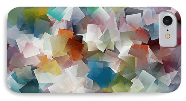 Crystal Cube IPhone Case by Kathy Sheeran