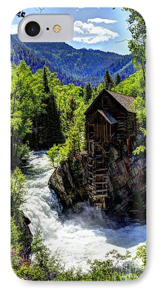 Crystal Mill Near Marble IPhone Case by Jean Hutchison