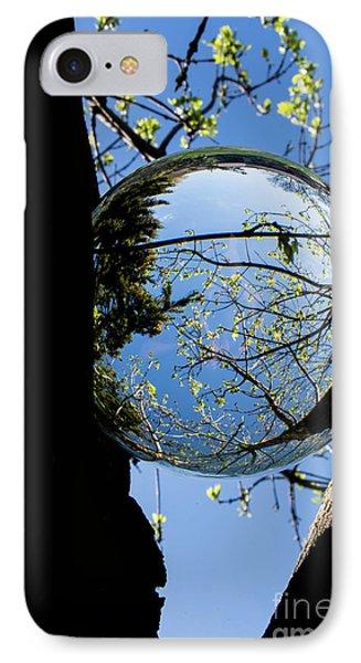 Crystal Reflection IPhone Case by Deborah Klubertanz