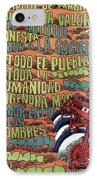 Cuban Poster, 1960s Phone Case by Granger