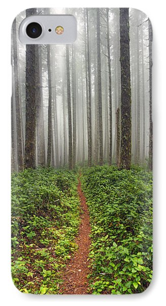 Cummins Wilderness Hike IPhone Case by Leland D Howard