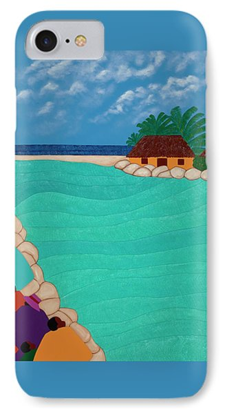 Curacao Lagoon IPhone 7 Case