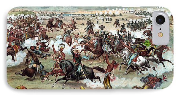 Custer's Last Stand Phone Case by War Is Hell Store