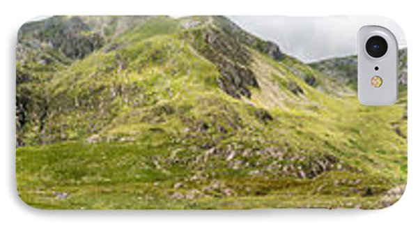 Cwm Idwal Panorama IPhone Case