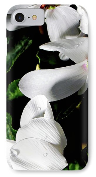 IPhone Case featuring the photograph Cyclamen by Mindy Newman