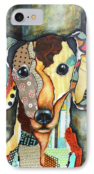 Dachshund IPhone Case by Patricia Lintner