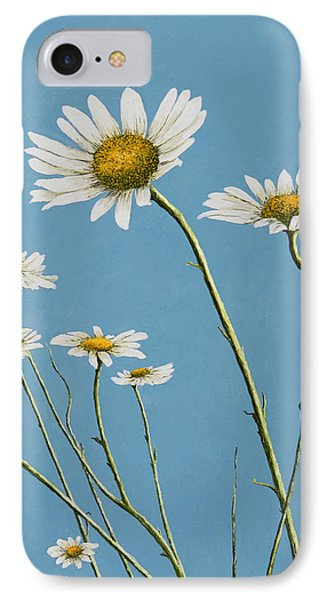 Daisies In The Wind IPhone Case