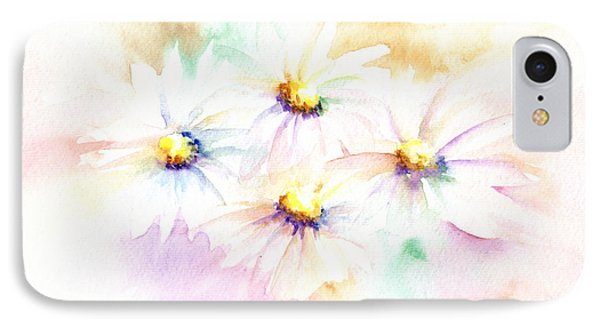 IPhone Case featuring the mixed media Daisy by Elizabeth Lock