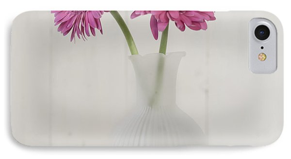 IPhone Case featuring the photograph Gerbera Daisy Love by Kim Hojnacki