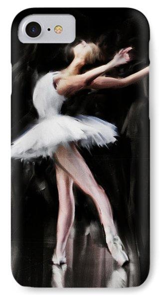 Dancer In White IPhone Case