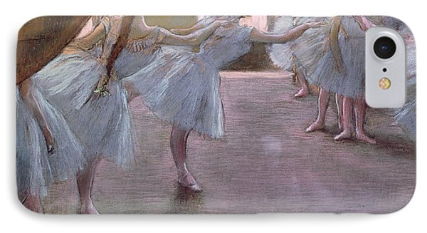 Dancers At Rehearsal Phone Case by Edgar Degas